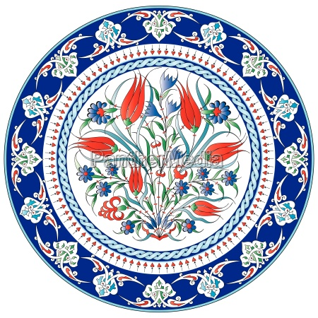 oriental ottoman design twenty five