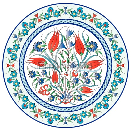 oriental ottoman design twenty six