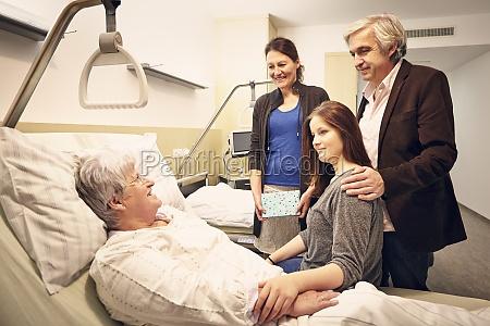 hospital family visit