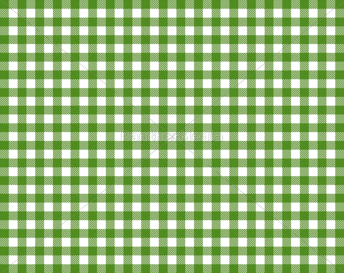 Tablecloth with green and white plaid pattern - Royalty free photo -  #11095276 | PantherMedia Stock Agency