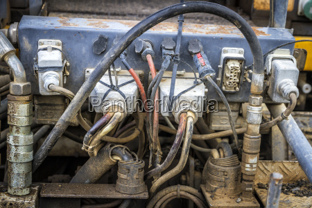 connections of an old engine