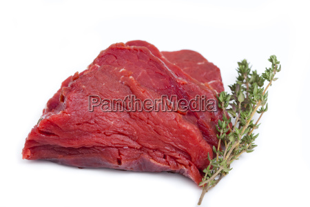piece of tender beef fillet with