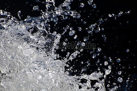 nature abstract refreshing water splash