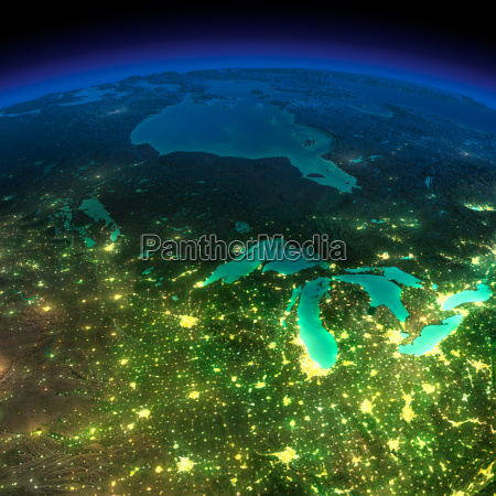 night earth a piece of america