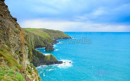 irish landscape coastline atlantic coast county