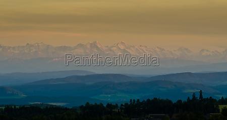 alpine panorama eiger monk jungfrau