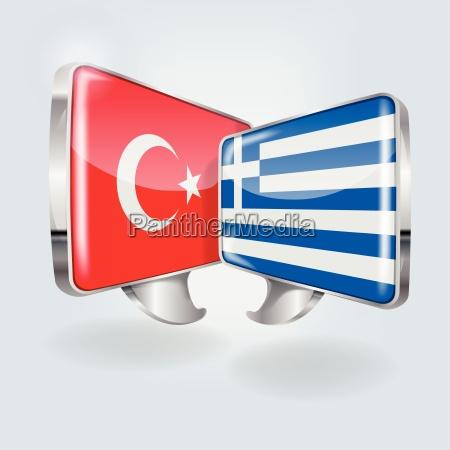 speech in turkish and greek