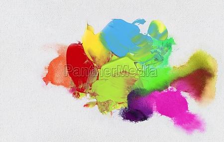colorato fantasia tingere schermo macchie colori