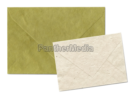 natural recycled nepalese paper envelopes