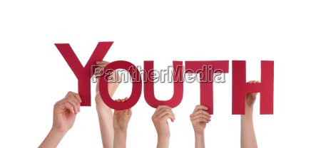 hands holding youth