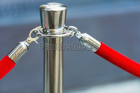 red rope exclusive barrier stanchion event