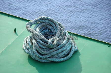 marine rope on board