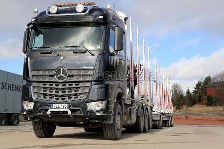 new mercedes benz arocs 3263 timber