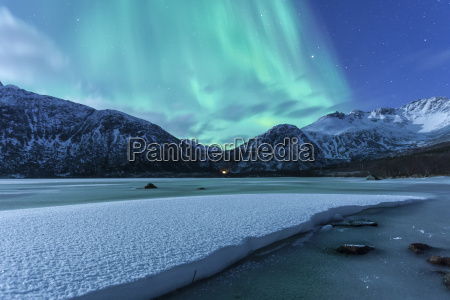 auroras over norway