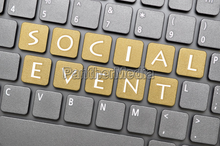 social event key on keyboard
