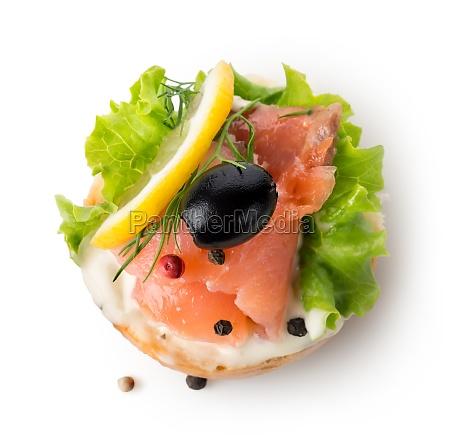 fish vegetable sandwich