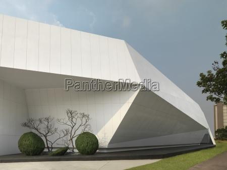 detail modern architecture
