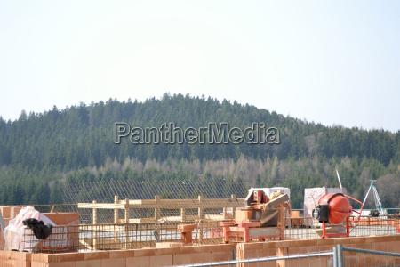 construction site house building