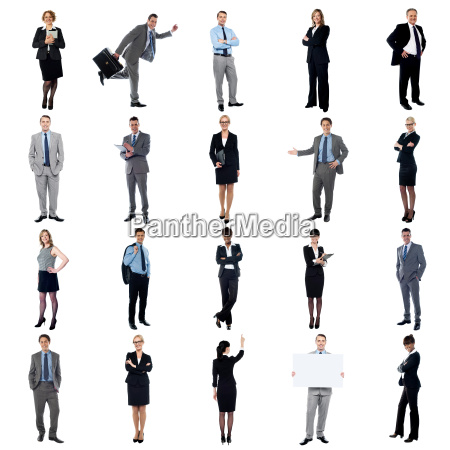 pictures of multiracial business executives