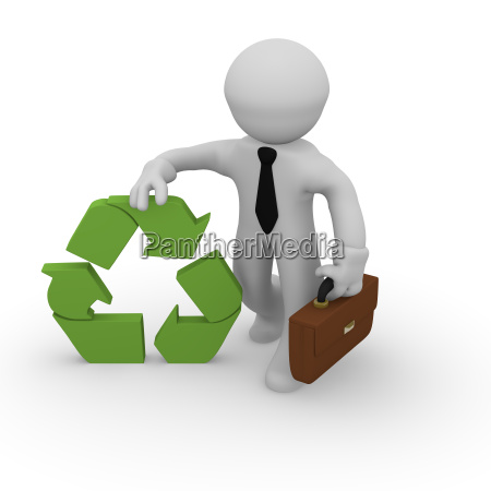 recycling business concept
