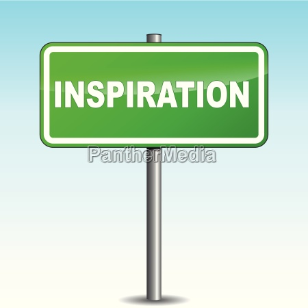 vector inspiration signpost