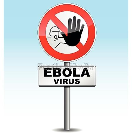 warning ebola virus