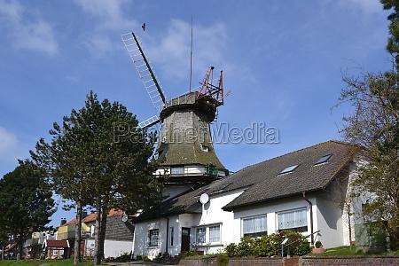 windmill in carolinensiel