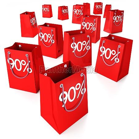shopping bags 90