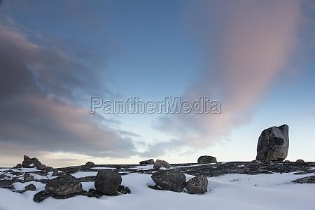 striking cliffs and rocks in norway