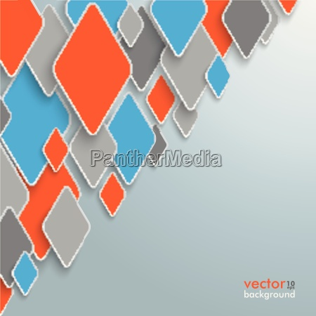 abstract colored rhombus background