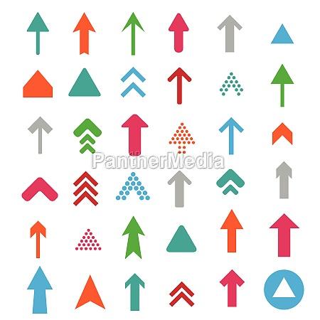 colored arrows