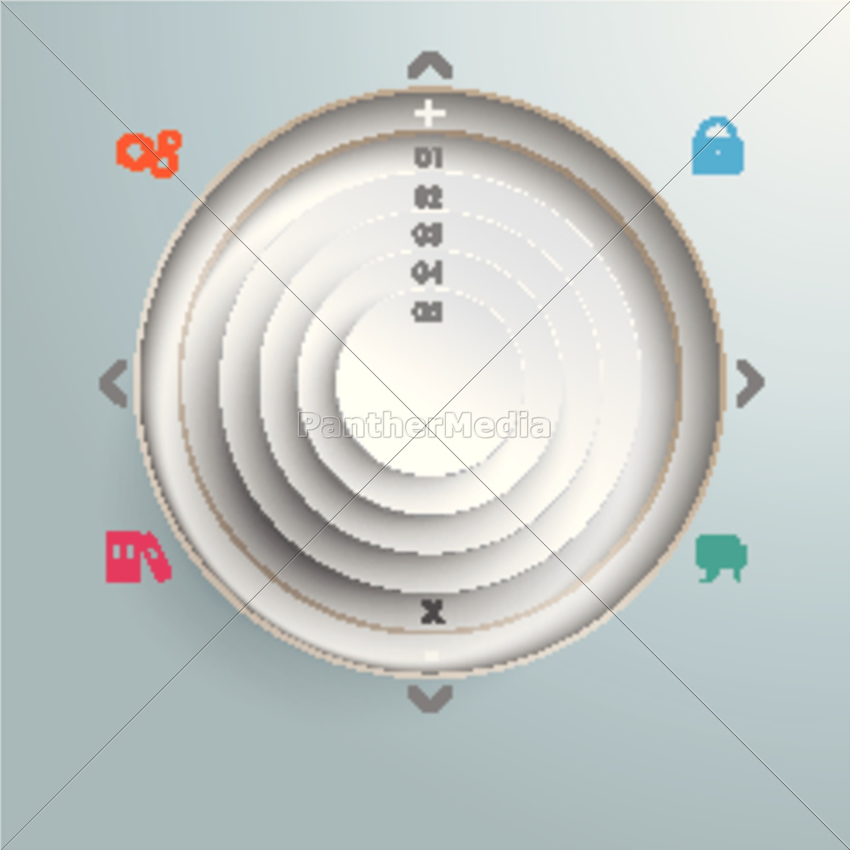 circle, in, cirlces, holes, infographic, design - 11398459