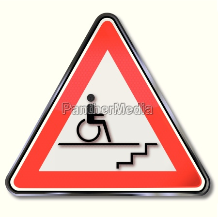 disability sign for wheelchair users by