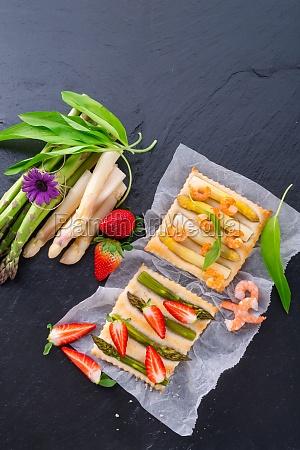 asparagus tarte