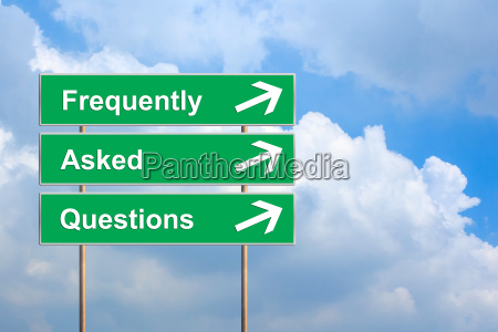 frequently asked questions or faq on