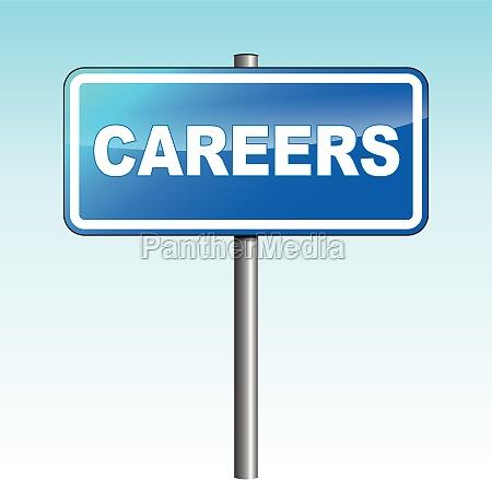 vector careers signpost