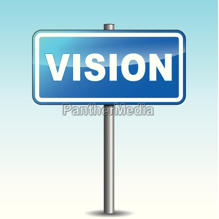 vector vision signpost