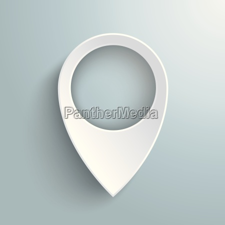 white location marker piad