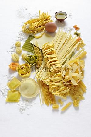 arrangement assorted different diverse diversity food