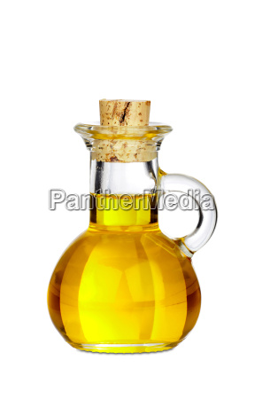 small carafe of glass isolated with