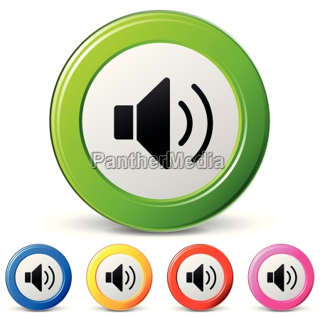 vector sound icons