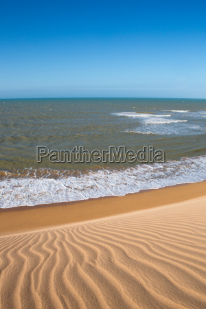 view of the colombian coastline in