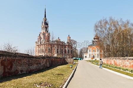 court of mozhaysk kremlin with nikolsky