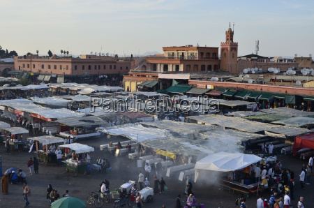 jemaa el fna place of the