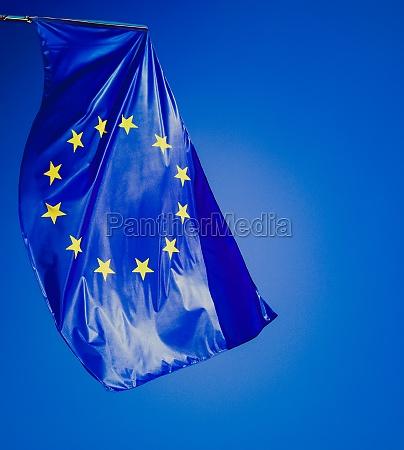 retro look european flag