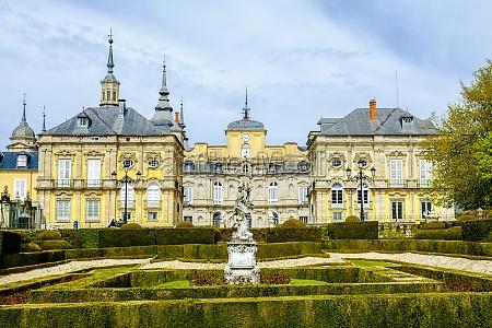 royal palace la granja de