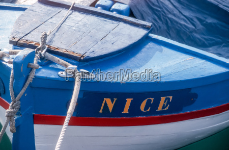 wooden boat in the harbor