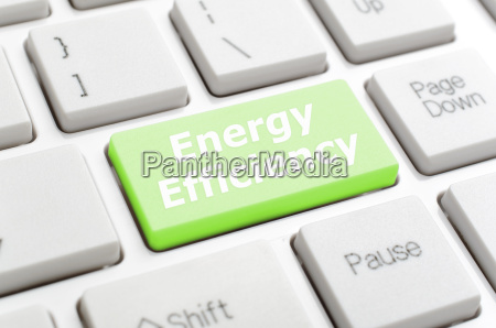energy efficiency on keyboard