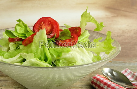 salad in the salad bowl