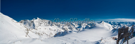 ski resort of neustift stubai glacier